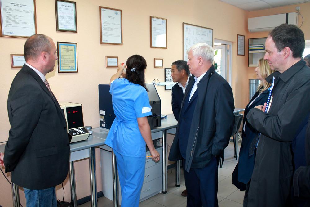 Рада директорів ЄБРР відвідала філію «Градизьк»