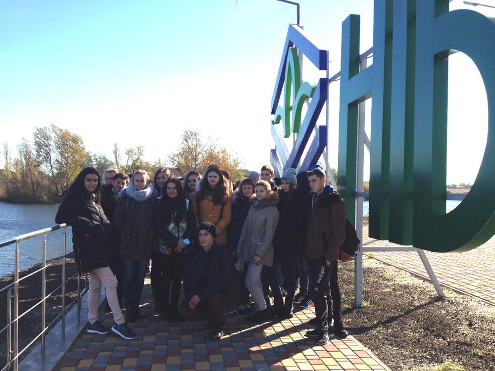 Студенти Херсонського державного аграрного університету на філії
