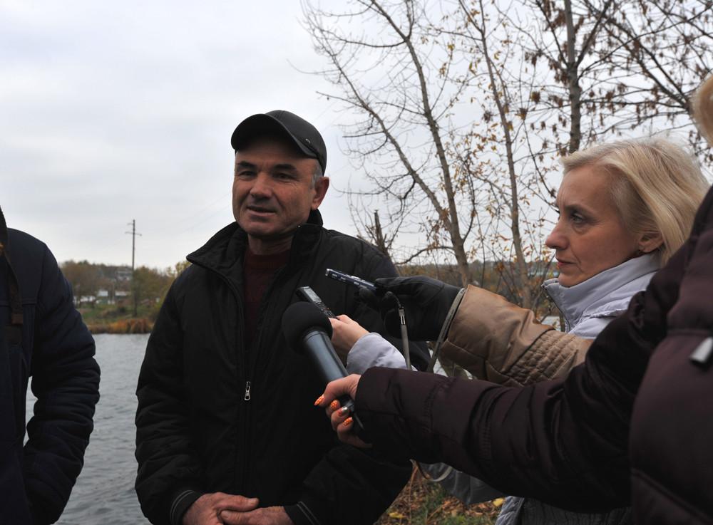Голова Прибужанівської ОТГ Олександр Тараненко