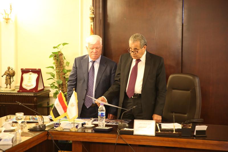 Зустріч з міністром постачання та внутрішньої торгівлі Єгипту