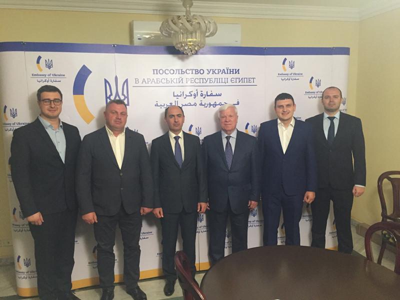Зустріч у Посольстві України в Єгипті