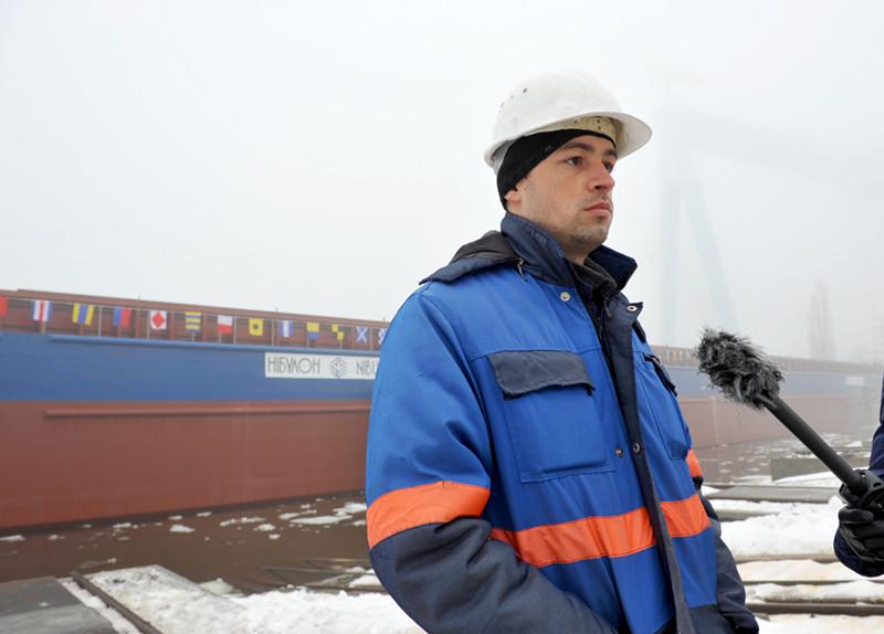 Головний інженер заводу Іван Таужнянський