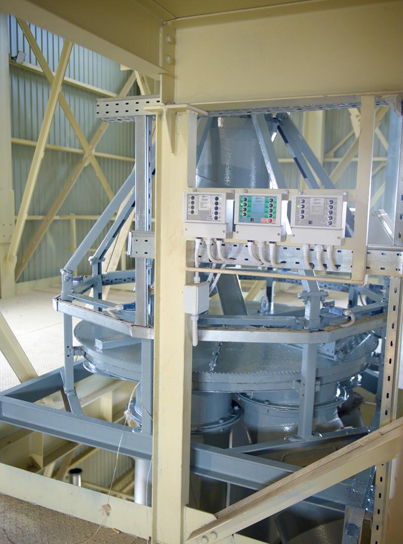 Розподільне коло (ТОВ  «Завод елеваторного обладнання», м. Одеса)