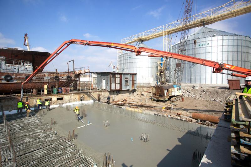 «НІБУЛОН» готує до введення в експлуатацію два обєкти на території миколаївського перевантажувального термінала