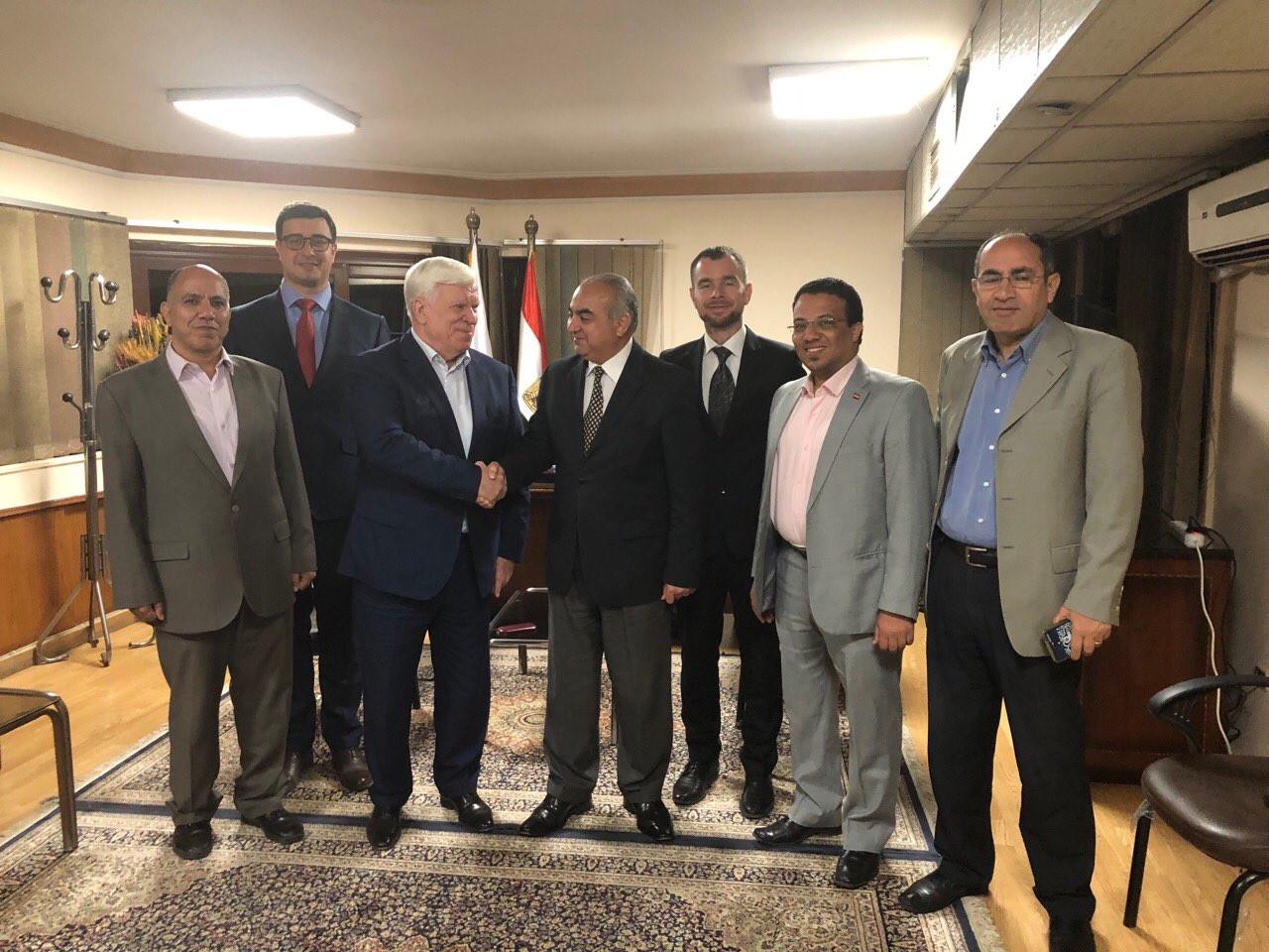 Робоча сесія з Генеральним управлінням з річкового транспорту (Каїр, Єгипет)