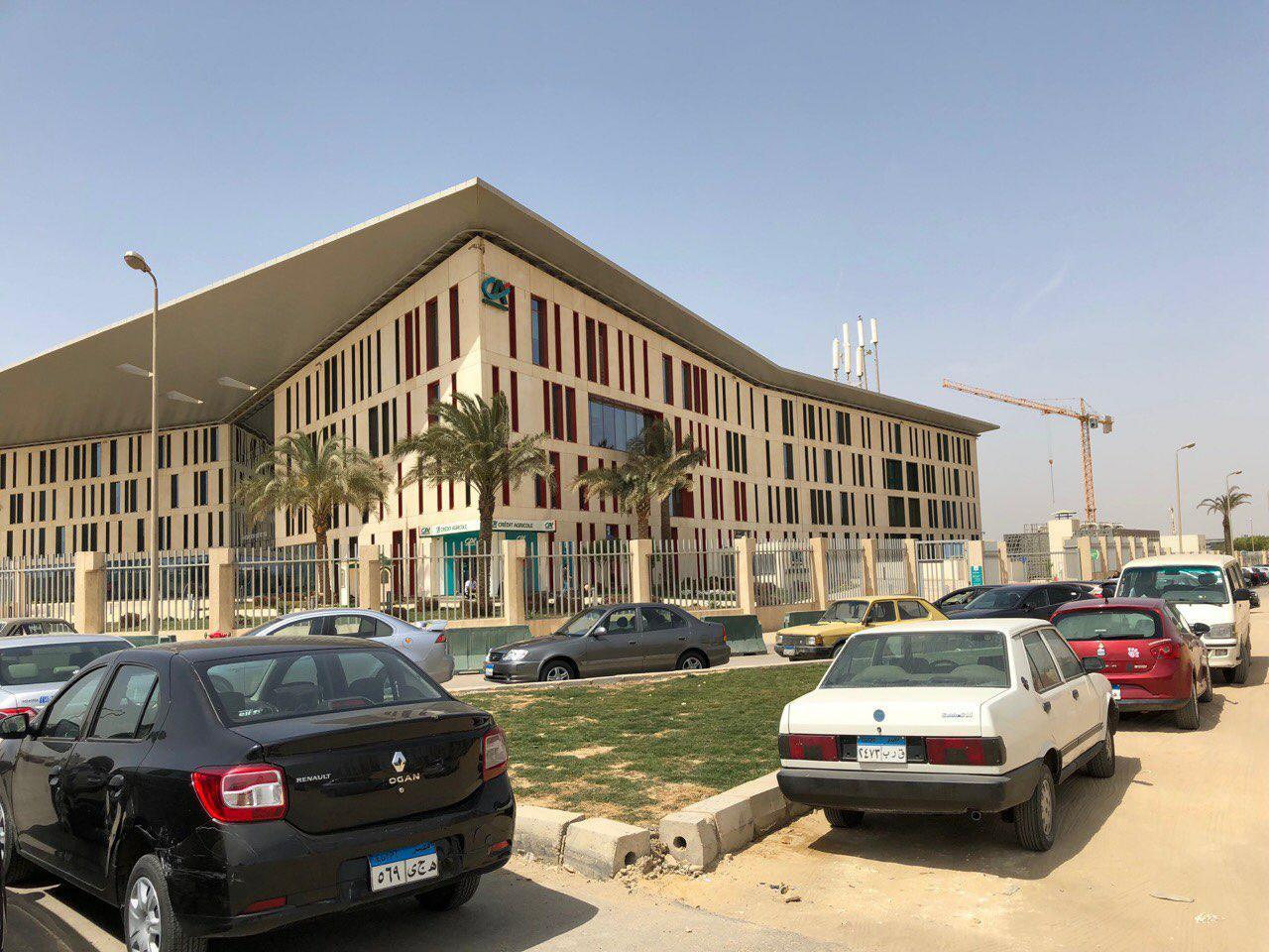 Зустріч у єгипетському офісі французького банку «Креді Агріколь»