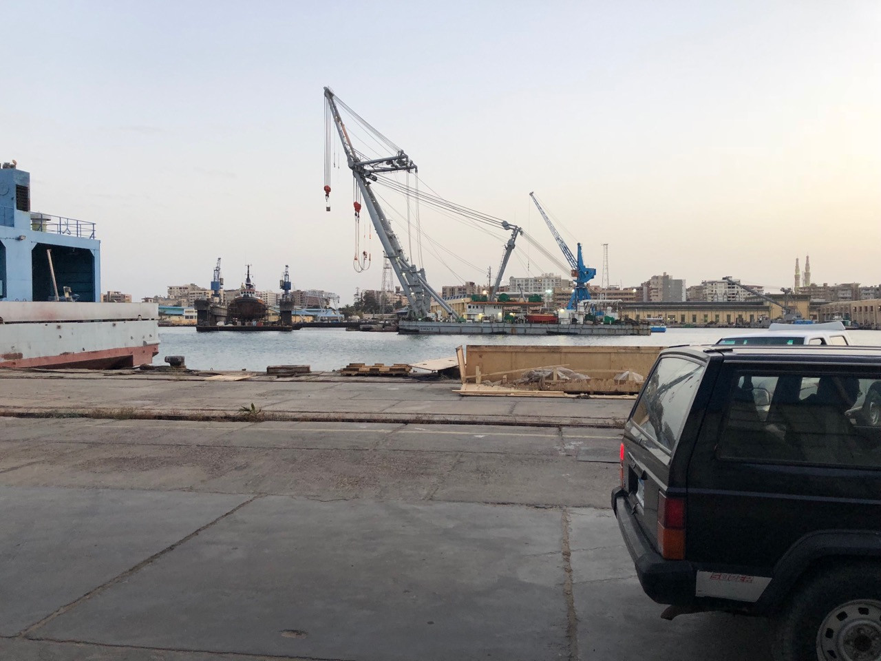 Візит на суднобудівно-судноремонтний завод у Порт-Саїді