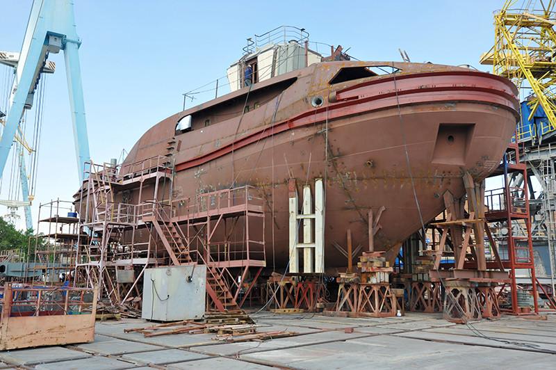 Будівництво другого буксира проекту Т3500