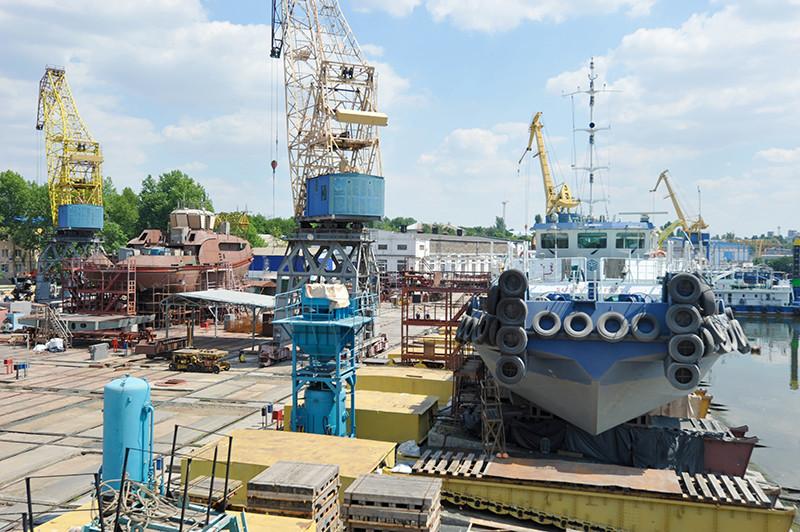Планове обслуговування буксира «НІБУЛОН-2»