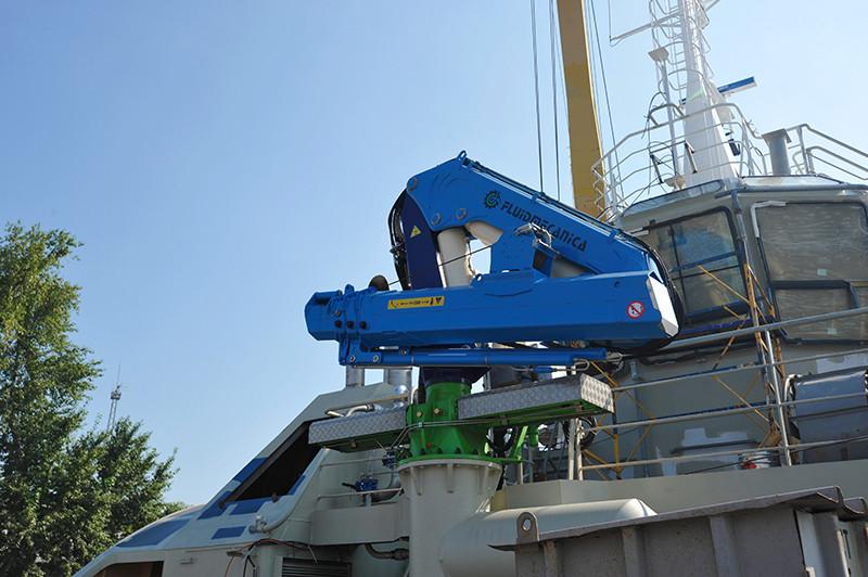 Добудівні роботи на першому буксирі проекту Т3500