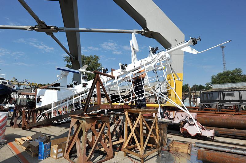 Добудівні роботи на другому буксирі проекту Т3500