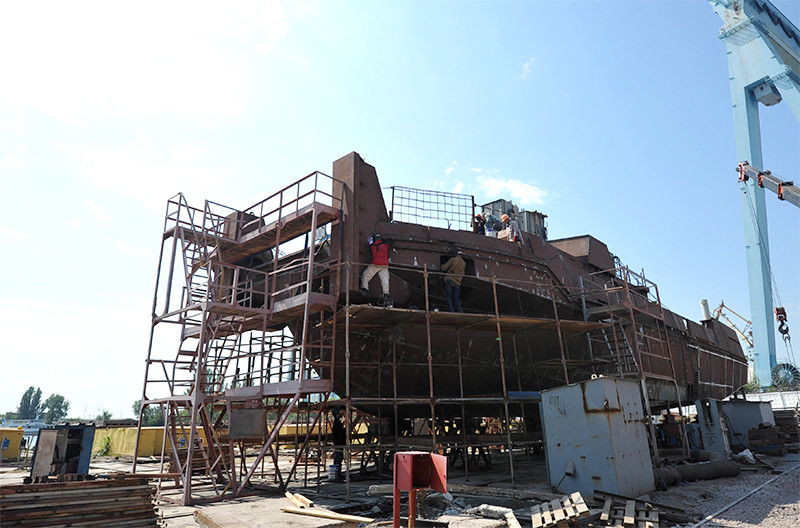 Будівництво буксирів проекту POSS-115