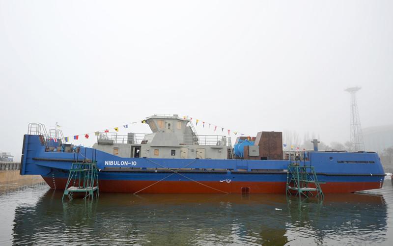 Третій буксир проекту POSS-115 на воді