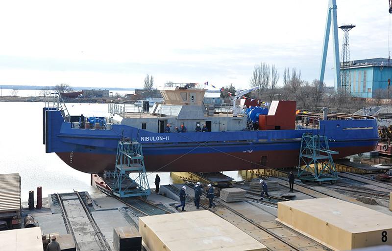 «НІБУЛОН»  спустив на воду четвертий буксир проекту POSS-115