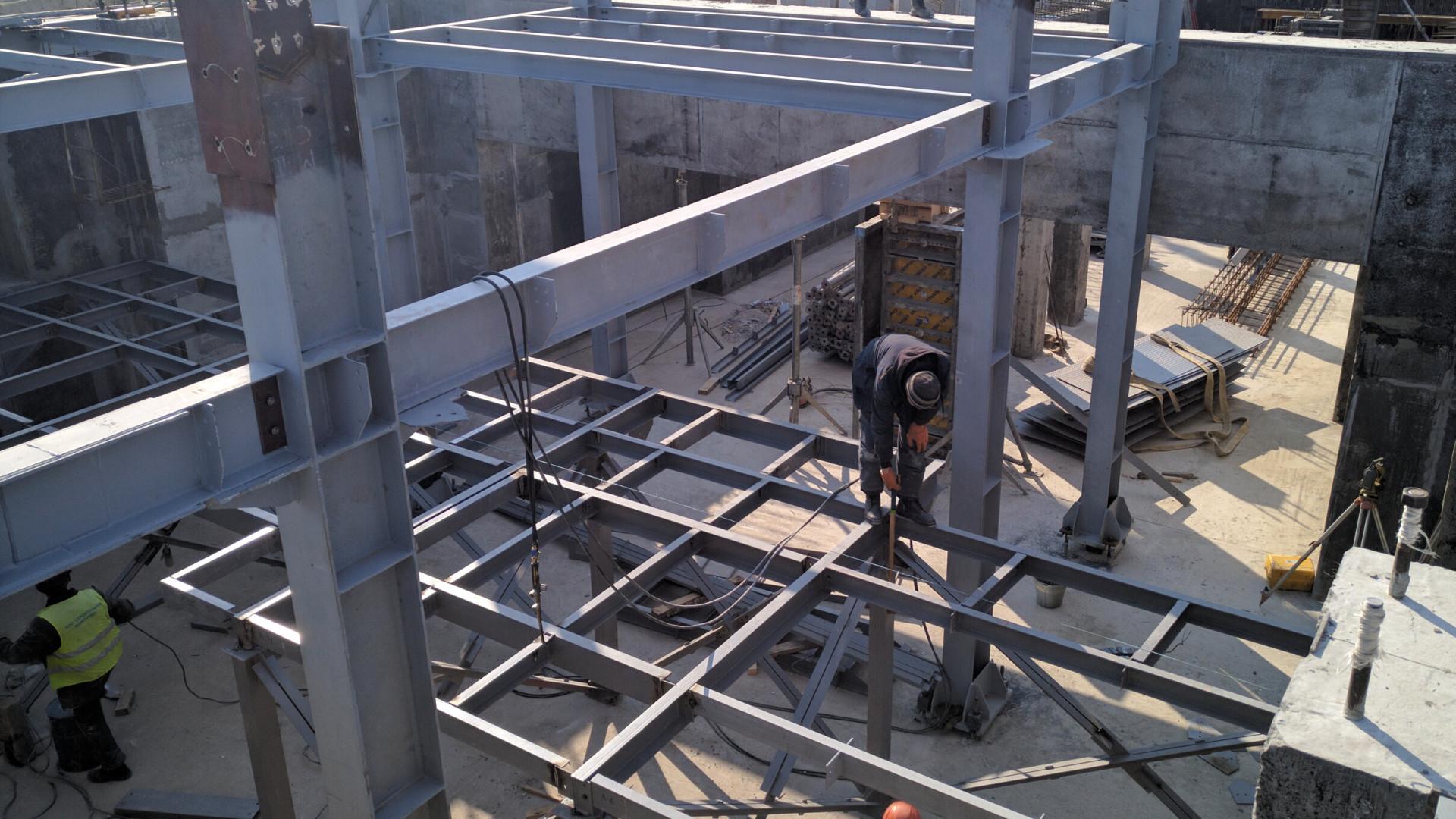 Монтаж металоконструкцій