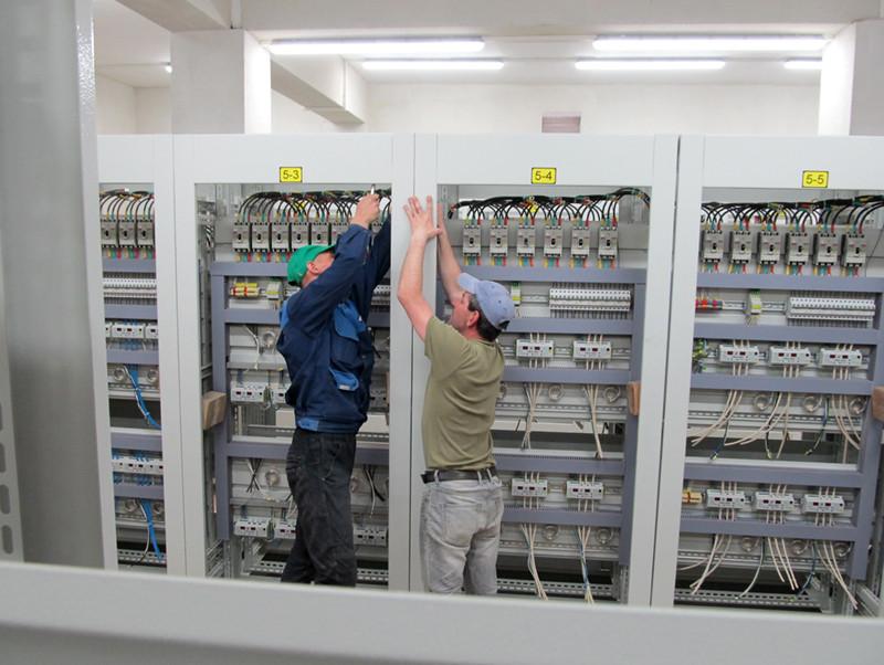Налаштування обладнання в трансформаторній підстанції