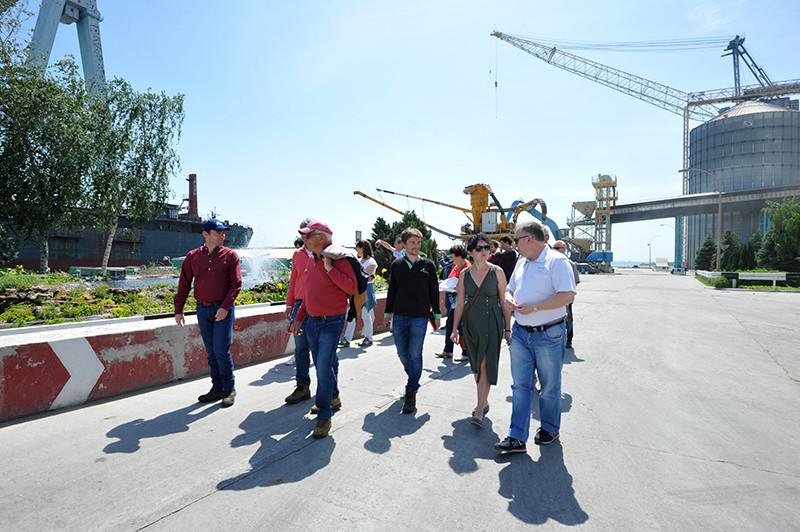 Компанія «Agritel International» продовжує знайомити західноєвропейських фермерів з аграрним сектором України