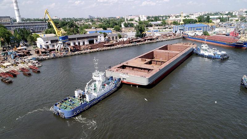 Гігант «NIBULON MAХ» зійшов на воду