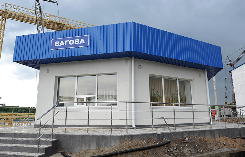 Готовий ваговий комплекс підприємства