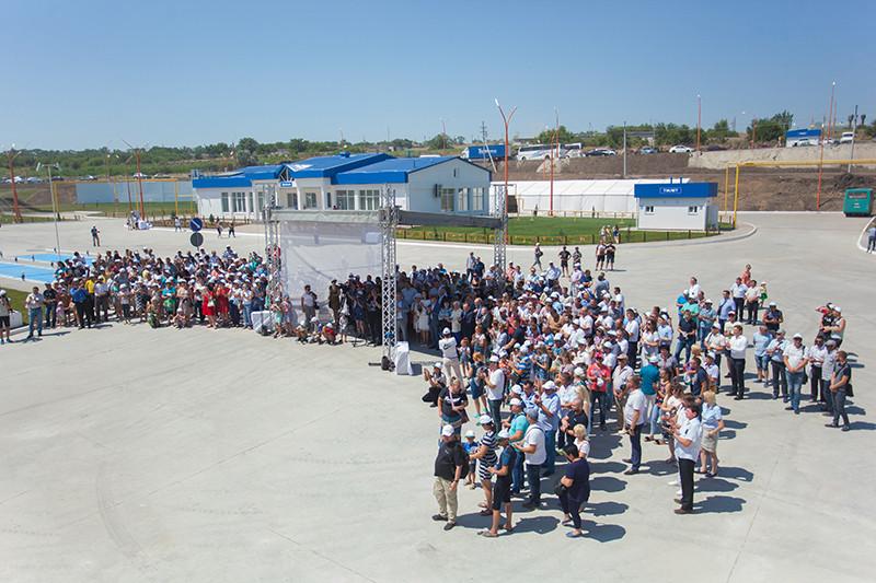 Відкриття перевантажувального термінала філії