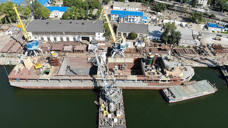 Добудівні роботи на 140-метровому перевантажувачі