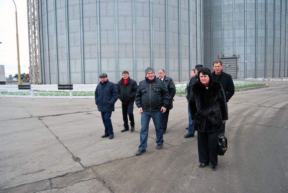Екскурсія на перевантажувальному терміналі
