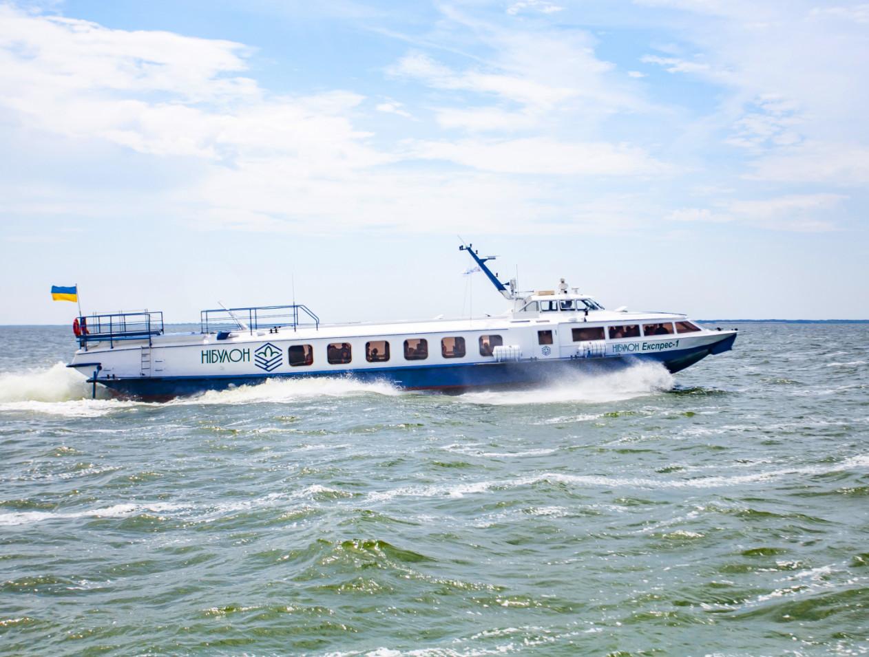 2016 рік – відродження водних пасажирських перевезень