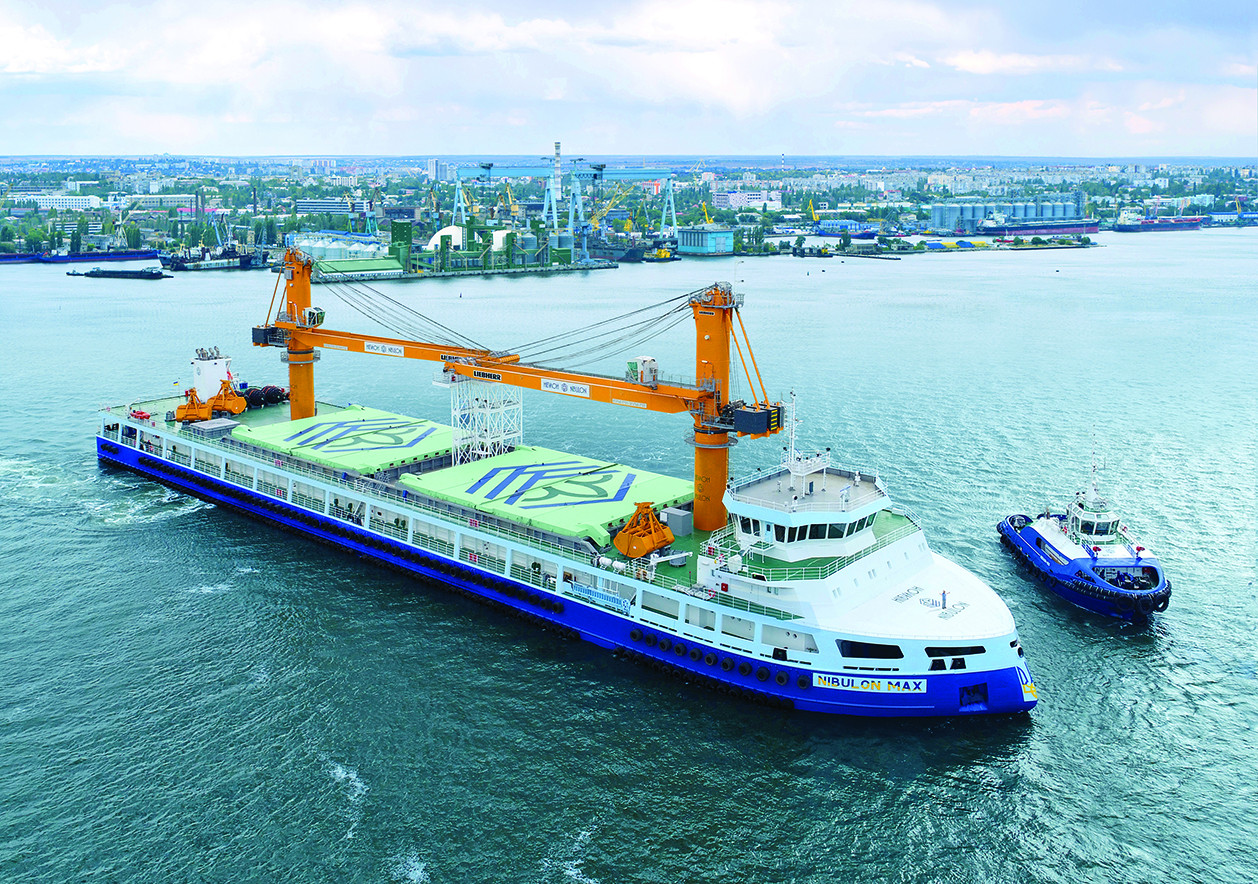 2019 рік – введення в експлуатацію 140-метрового самохідного плавкрана NIBULON MAХ