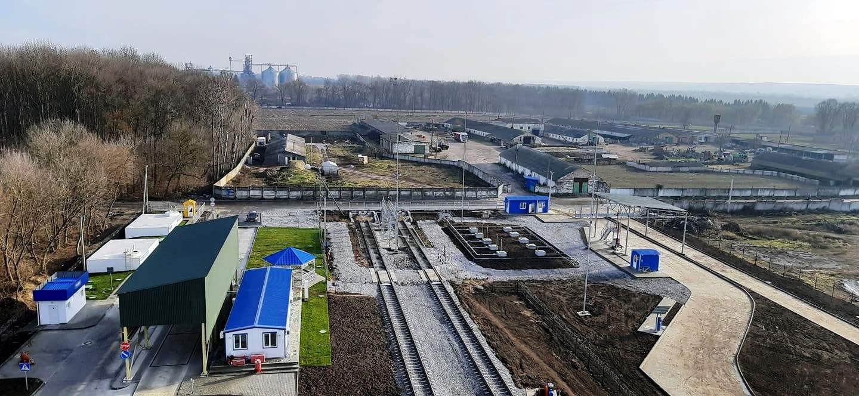 Найбільший паливозаправний пункт компанії в м. Хмільник Вінницької області
