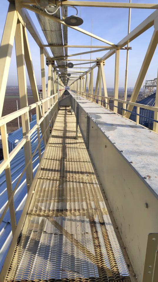 Нові потужності зі зберігання сільськогосподарської продукції перевантажувального термінала прийняті в експлуатацію