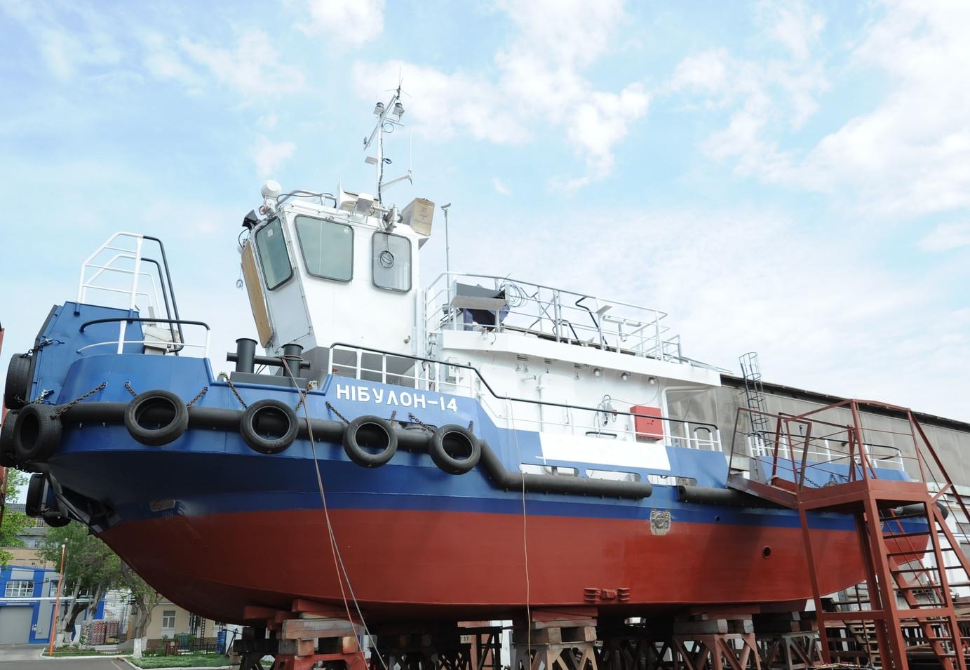 Другий портовий буксир штовхач-кантувальник пр. Т410 (зам. 10034)