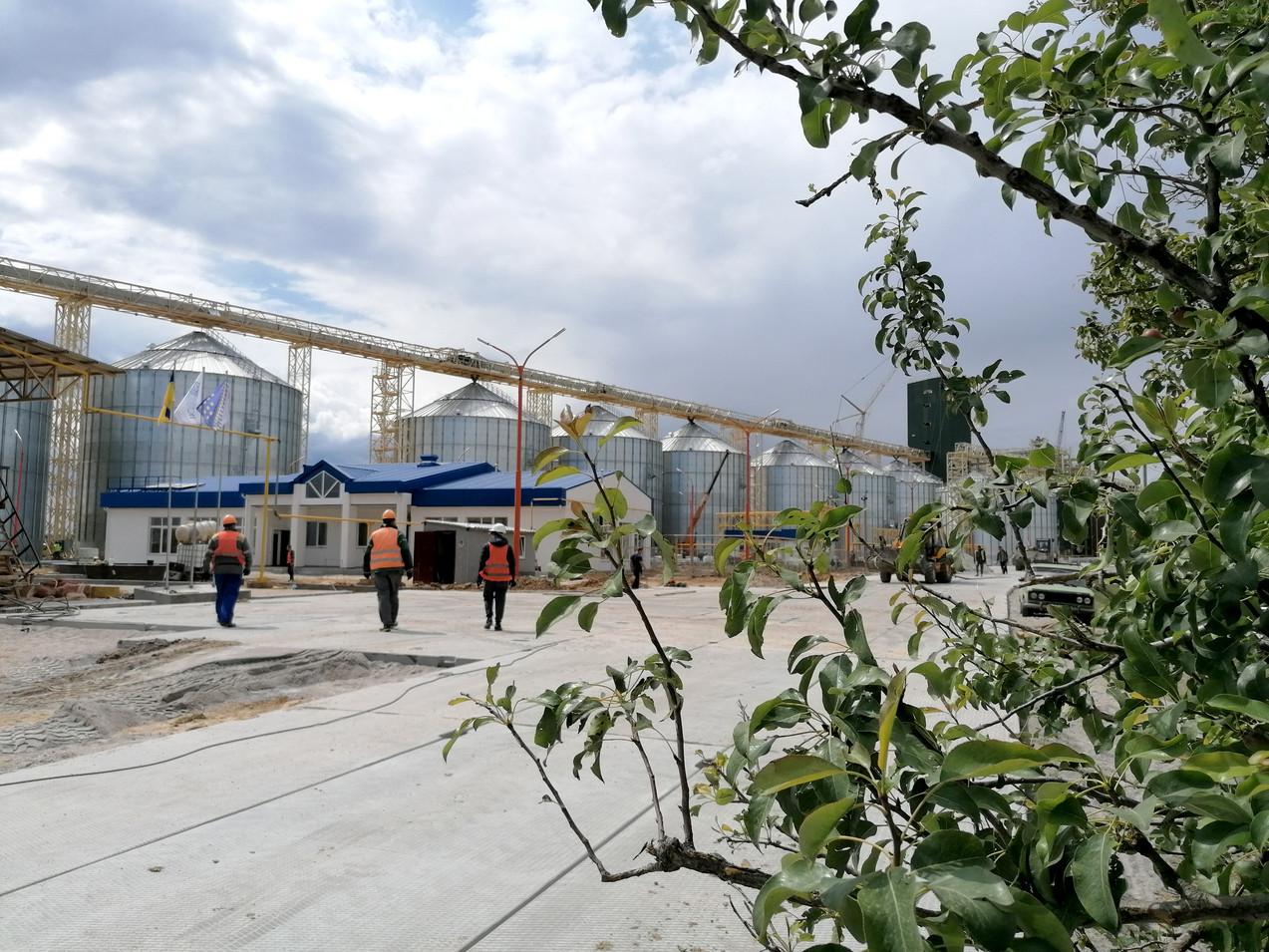 «НІБУЛОН» закінчує загальнобудівельні роботи у Мар'янському