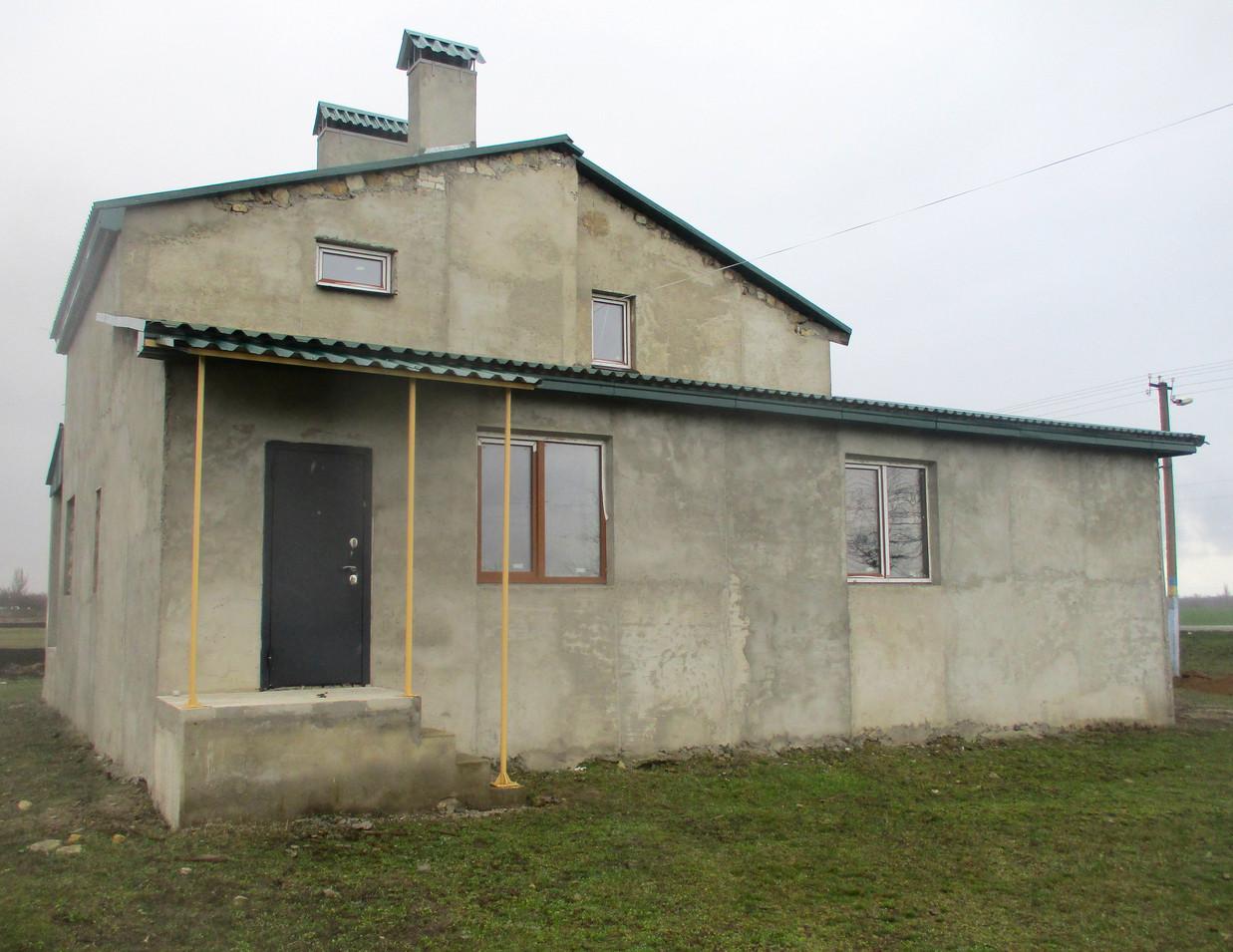 Будівництво у с. Широке Снігурівського району Миколаївської області