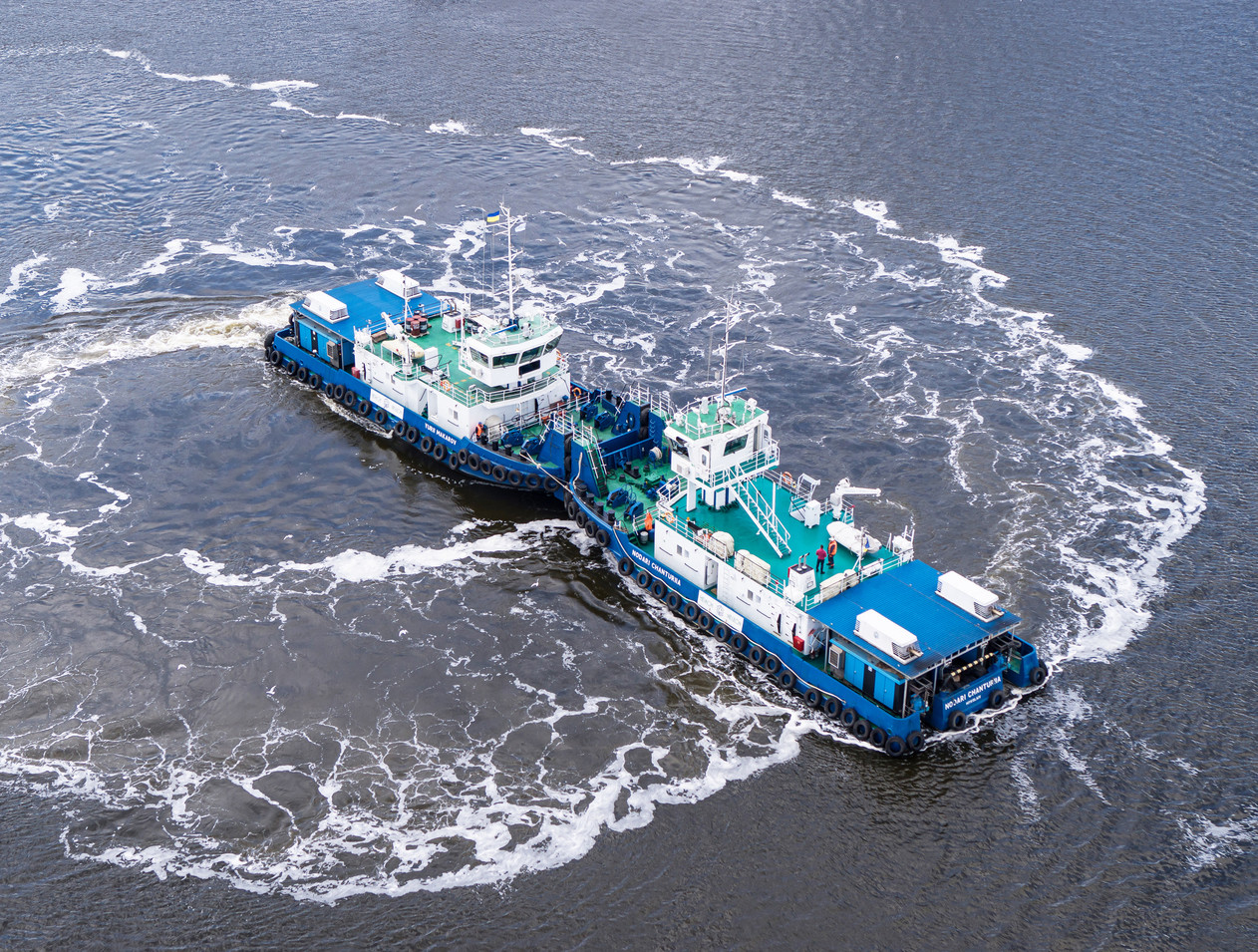 Флот компанії НІБУЛОН