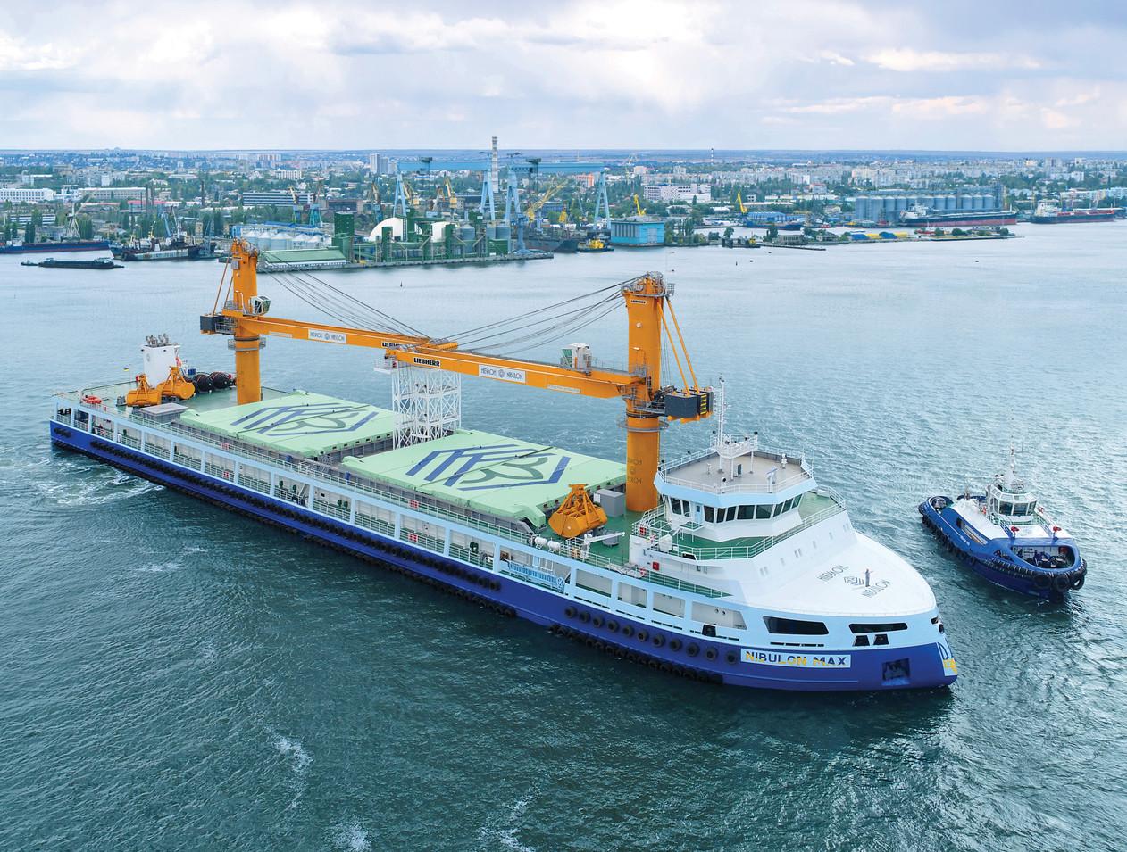 140-метровий самохідний плавкран NIBULON MAX