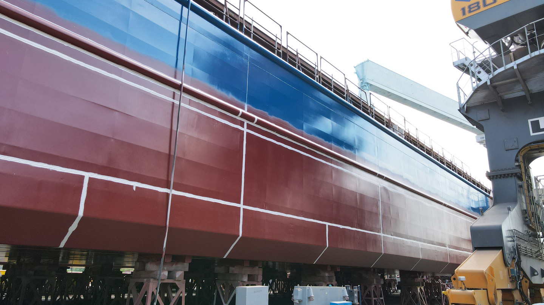 Перше несамохідне судно пр. В5000М (зам. 10050)