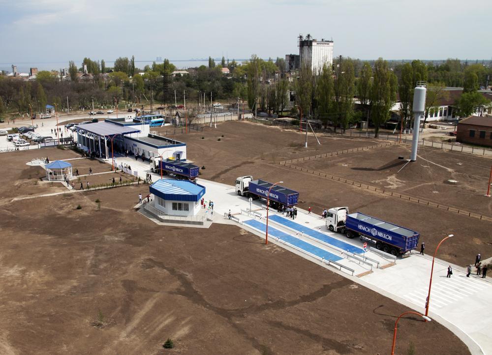 """Так выглядит новый речной терминал  """"Каменка-Днепровская""""!"""
