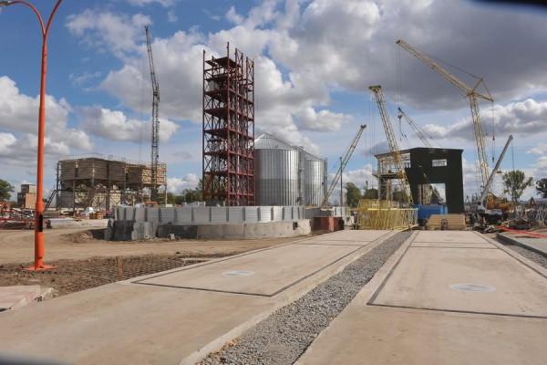 Стан будівництва елеватора філії Глобинська, 19.09.2009 р. (фоторепортаж)