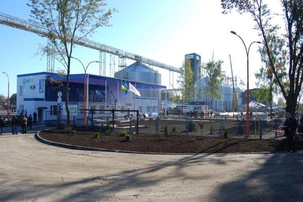 Стан будівництва елеватора філії Глобинська, 10.10.2009 р. (фоторепортаж)
