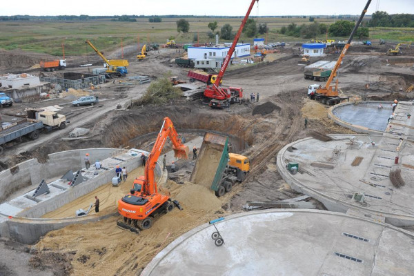 Стан будівництва елеватора філії Ромодан, 05.09.2009 р. (фоторепортаж)