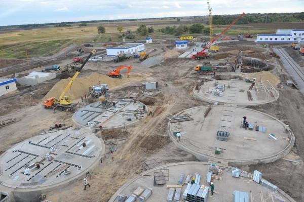 Стан будівництва елеватора філії Ромодан, 19.09.2009 р. (фоторепортаж)