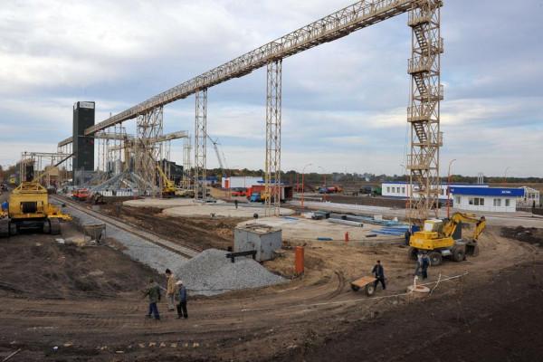 Стан будівництва елеватора філії Ромодан, 10.10.2009 р. (фоторепортаж)