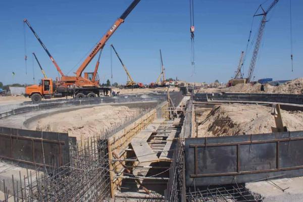 Стан будівництва елеватора філії Вітове, 28.08.2009 р. (фоторепортаж)