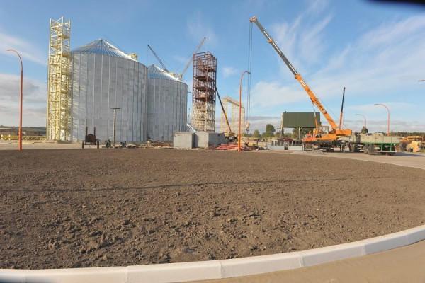 Стан будівництва елеватора філії Вітове, 19.09.2009 р. (фоторепортаж)