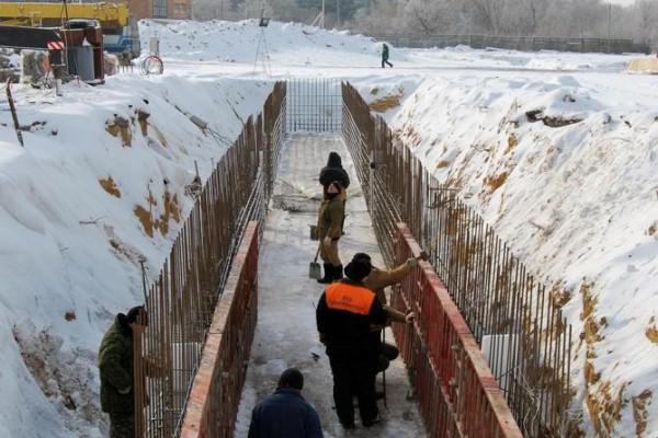 Стан будівництва елеватора філії «Кам'янка-Дніпровська», 30.01.2010 (фоторепортаж)