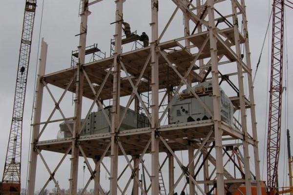 Стан будівництва елеватора філії «Кам'янка-Дніпровська», 6.03.2010 (фоторепортаж)