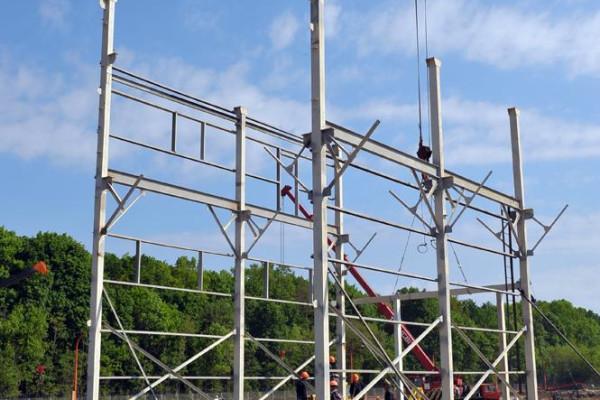 Стан будівництва елеватора філії <b>«Артемівська»</b>, 14.05.2010 (фоторепортаж)
