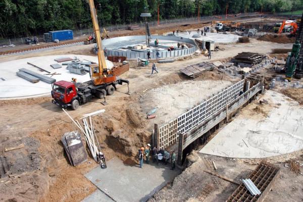 Стан будівництва елеватора філії <b>«Артемівська»</b>, 21.05.2010 (фоторепортаж)
