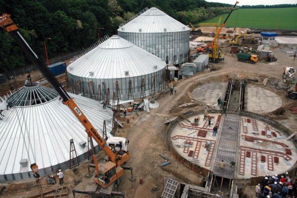 Стан будівництва елеватора філії <b>«Артемівська»</b>, 29.05.2010 (фоторепортаж)