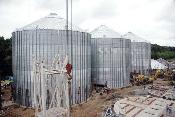 Стан будівництва елеватора філії <b>«Артемівська»</b>, 05.06.2010 (фоторепортаж)